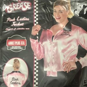 Plus Size Pink Ladies Costume Jacket